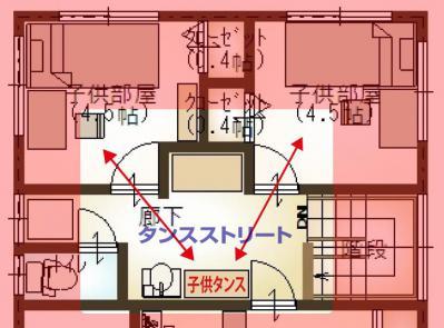 キッチン変更_2F_タンス導線2
