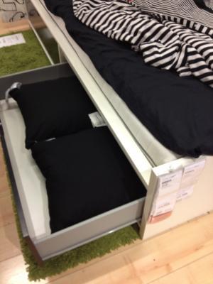 024収納付きベッド