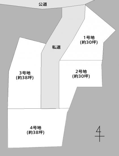 4区画土地全景2