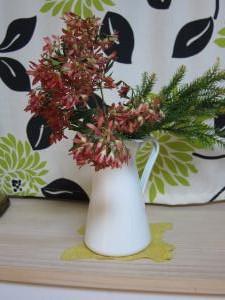 待合棚の花