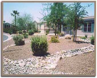 Practical Landscaping Ideas Using Gravel and Grass ... on Gravel Front Yard Ideas id=51215
