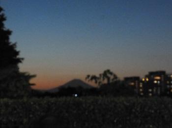 富士山も見えて
