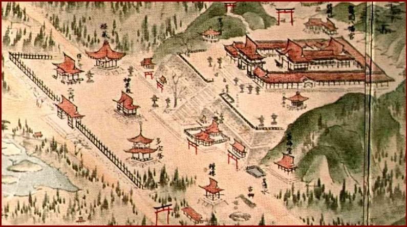 a3鎌倉八幡神仏習合絵図-2