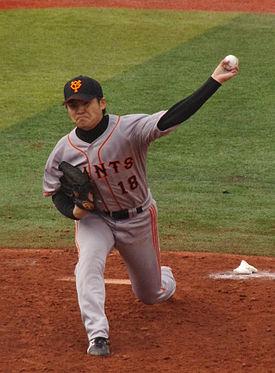 杉内投手(Wikiより)