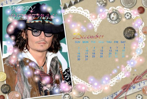 12月カレンダーFC2用
