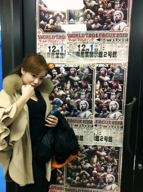 新日本プロレス「金沢大会」★チアガールのオファー来たよ!