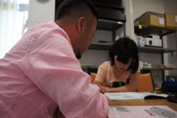 試験勉強中www