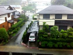 台風接近1