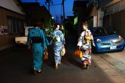 yukata de night 3