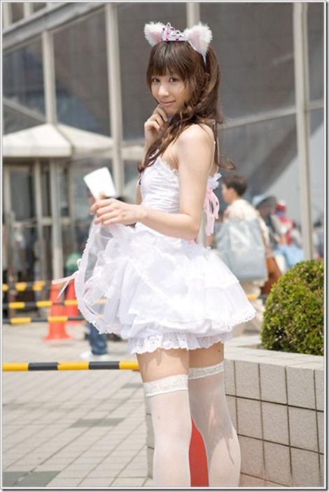 【ミニスカ絶対領域エロ画像】パンツが見えてなくても抜けそうなミニスカートのお姉さん画像(50枚)12-s
