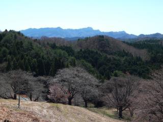沓掛峠からの風景