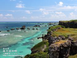 沖縄,風景,壁紙,デスクトップカレンダー,宮古島,東平安名崎