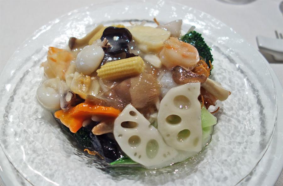 重慶飯店 海鮮焼きそば