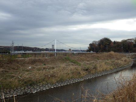 IMGP0917 鷺舞橋と横浜薬科大