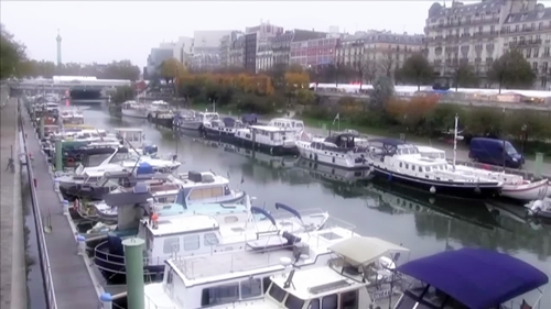 パリのアルスナル港