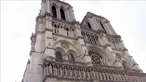 虎と小鳥のフランス日記 ノートルダム大聖堂