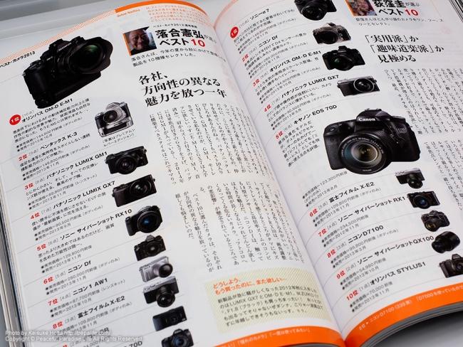日本カメラ12 ベストカメラ2013