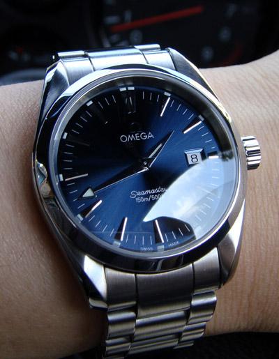 quality design eb2c8 c52c7 腕時計好きの趣味ブログ 今日はオメガシーマスター アクアテラ ...