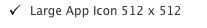Large app icon 512 x 512