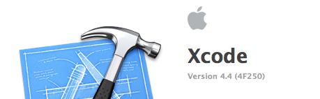 Xcode 4.4