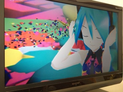 AirPlayでテレビへ出力