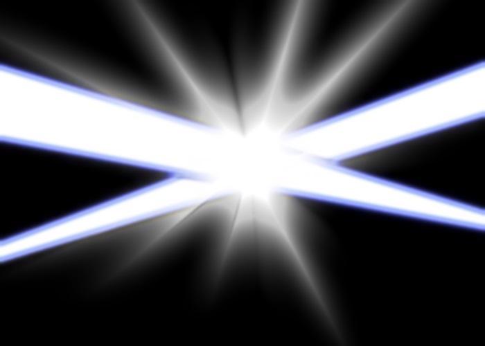 交差する閃光
