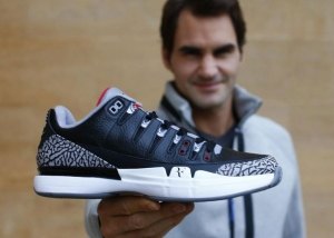Nike Court Zoom Vapor AJ3 Black Cement