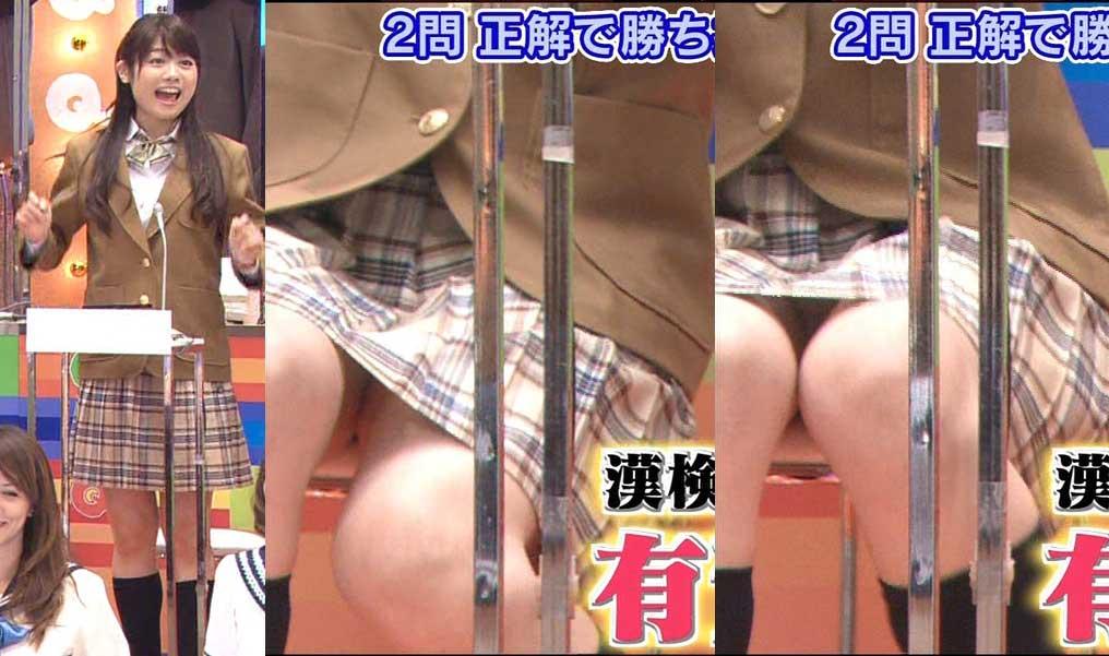 松尾依里佳 制服パンチラキャプ画像(エロ・アイコラ画像)