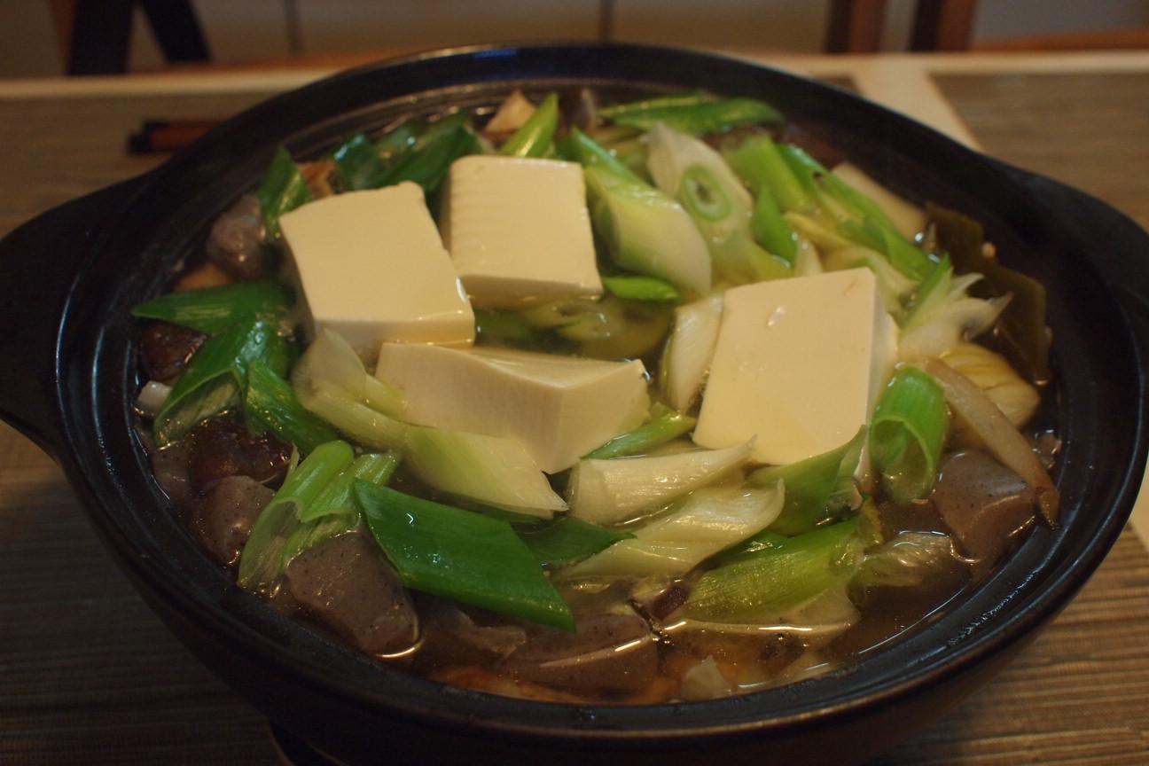 トリ豆腐鍋