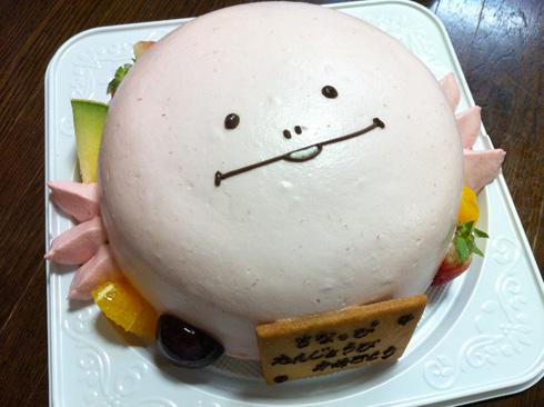 120916ウーパールーパーへぺたケーキ