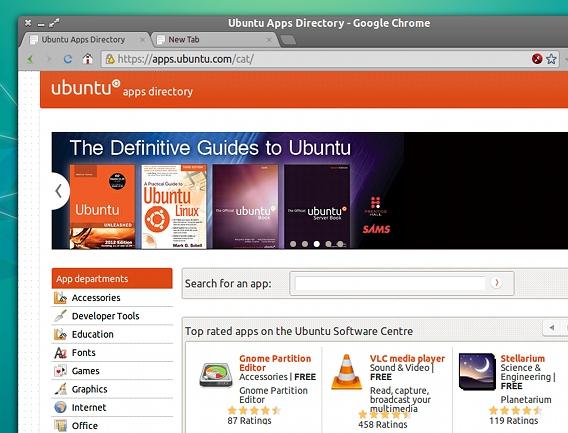 Ubuntu Apps Directory Ubuntuアプリの検索とインストール
