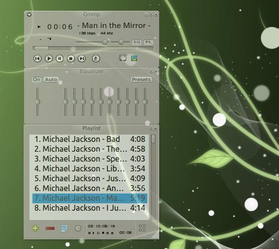 Qmmp Ubuntu 音楽プレイヤー