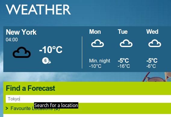 BBC Weather Desklet Ubuntu Cinnamon 天気ウィジェット 日本のロケーションコード