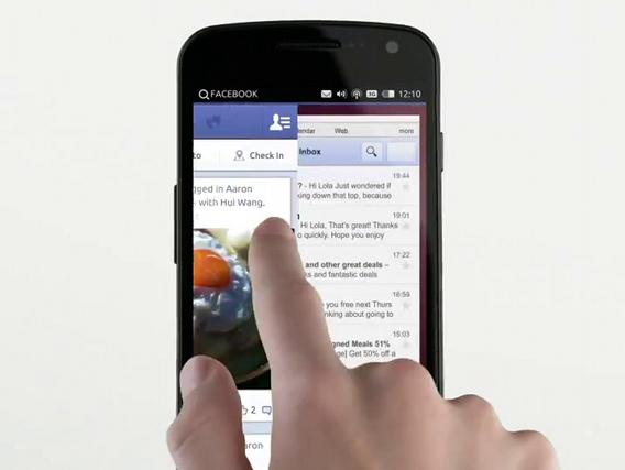 Ubuntu for phones アプリケーションの切り替え