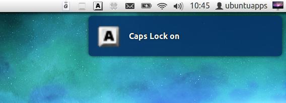 indicator-keylock Ubuntu Unity パネル