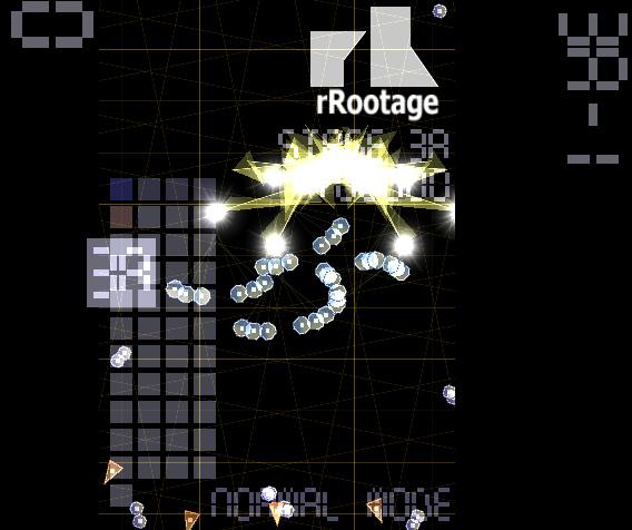 rRootage Ubuntu シューティングゲーム メニュー