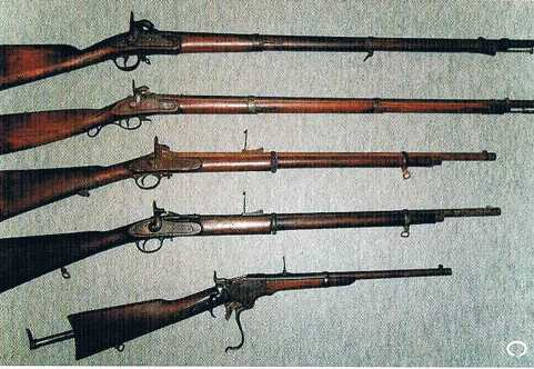 主な銃の種類