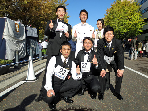 第2回ウエイターズレース横浜@日本大通り
